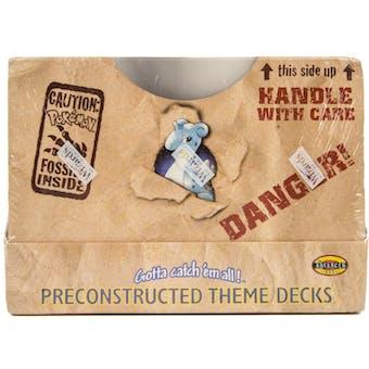 WOTC Pokemon Fossil Precon Theme Deck Box - 8 Decks! (Sealed)
