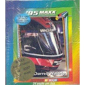 1995 J.R. Maxx Inc. Maxx Premier Plus Racing Hobby Box