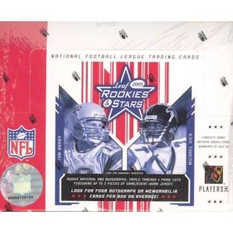 2005 Leaf Rookies & Stars Football Hobby Box