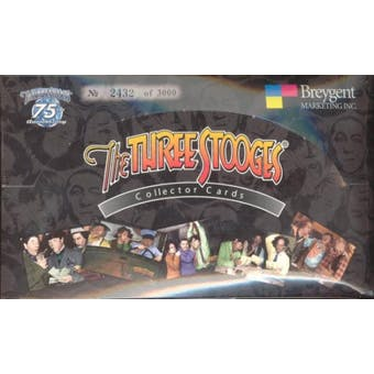 The Three Stooges Collector Cards Box (2005 Breygent)