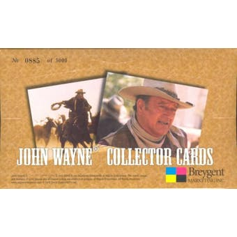 John Wayne Collector Cards Box (2005 Breygent)