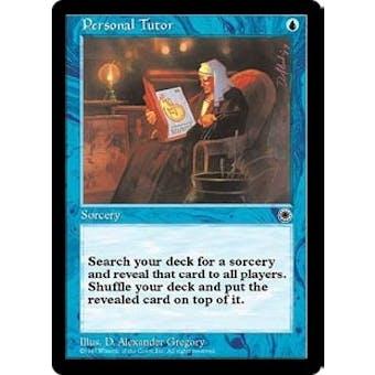Magic the Gathering Portal 1 Single Personal Tutor - NEAR MINT (NM)