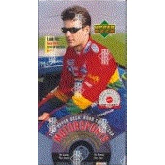 1999 Upper Deck Road To The Cup Racing Hobby Box