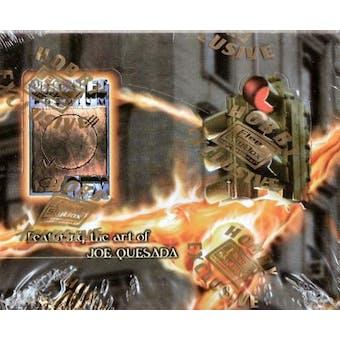Marvel Premium QFX Quesada Hobby Box (1997 Skybox)