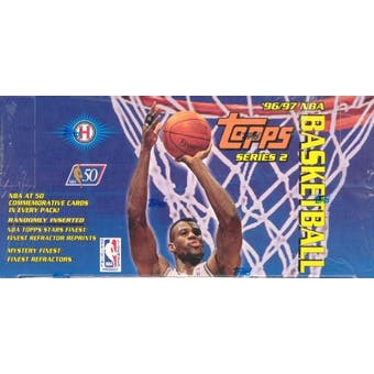 1996/97 Topps Series 2 Basketball Jumbo Box