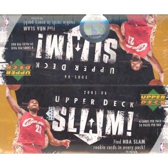 2005/06 Upper Deck Slam Basketball 24-Pack Box