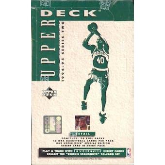 1994/95 Upper Deck Series 2 Basketball Retail Box