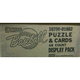 1987 Donruss Baseball Blister Pack Case