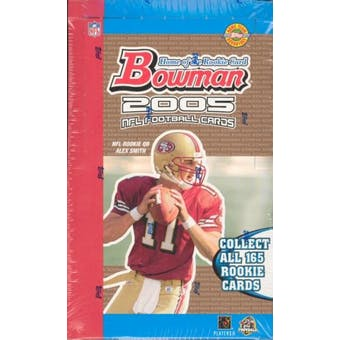 2005 Bowman Football Jumbo Box