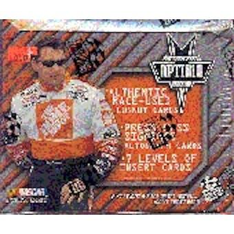 2001 Press Pass Optima Racing Hobby Box