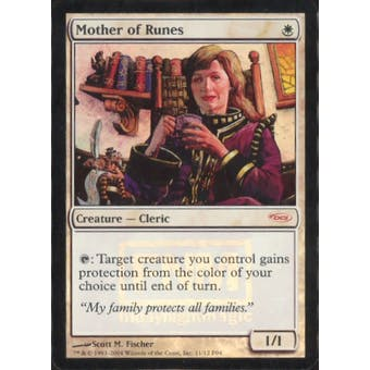 Magic the Gathering Promotional Single Mother of Runes Foil (FNM) - MODERATE PLAY (MP)