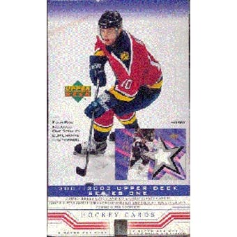 2001/02 Upper Deck Series 1 Hockey Hobby Box