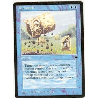 Magic the Gathering Legends Single Telekinesis - SLIGHT PLAY (SP) Sick Deal Pricing