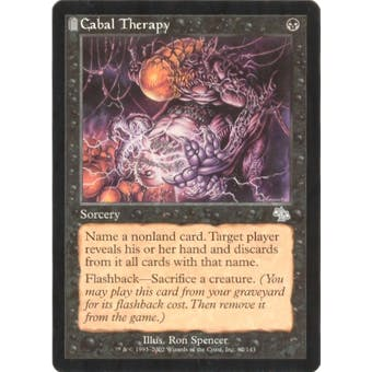 Magic the Gathering Judgment Single Cabal Therapy - NEAR MINT (NM)