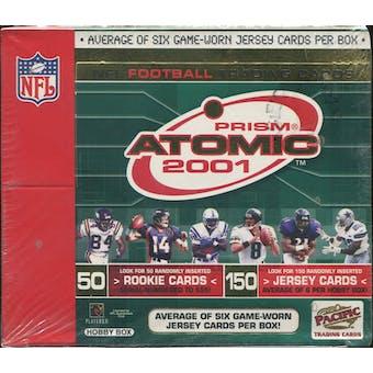 2001 Pacific Atomic Football Hobby Box