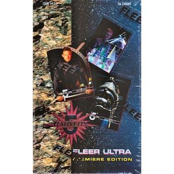Babylon 5 Season 1 Hobby Box (1995 Fleer Ultra)
