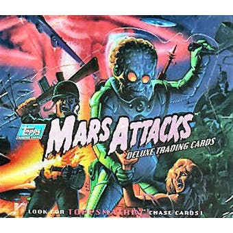 Mars Attacks Hobby Box (1994 Topps)