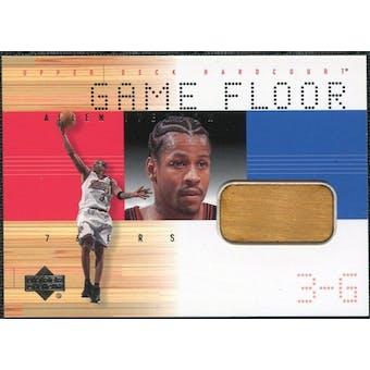 2000/01 Upper Deck Hardcourt Game Floor #AIF Allen Iverson