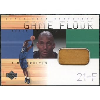 2000/01 Upper Deck Hardcourt Game Floor #KGF Kevin Garnett
