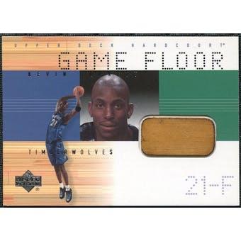 2000/01 Upper Deck Hardcourt Game Floor #KGF Kevin Garnett