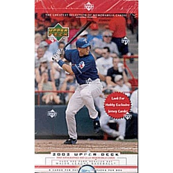 2002 Upper Deck Series 1 Baseball Hobby Box