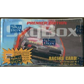 1994 Skybox Premier Edition Racing Set Box