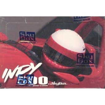 1995 Skybox Indy 500 Racing Hobby Box