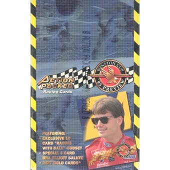 1995 Action Packed Winston Cup Preview Racing Hobby Box