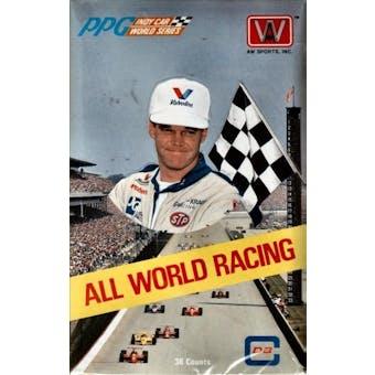 1991 All World Indy Racing Hobby Box