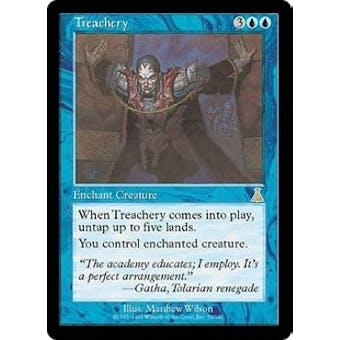 Magic the Gathering Urza's Destiny Single Treachery - SLIGHT PLAY (SP)