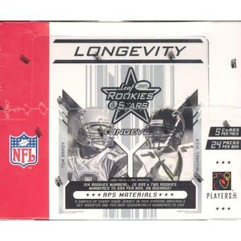 2005 Leaf Rookies & Stars Longevity Football Hobby Box
