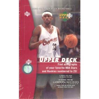 2005/06 Upper Deck Basketball Hobby Box