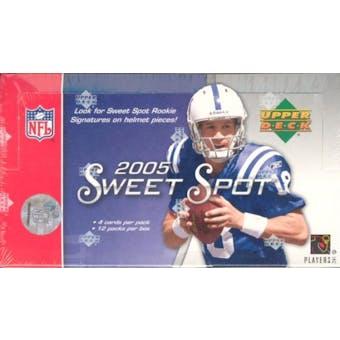2005 Upper Deck Sweet Spot Football Hobby Box