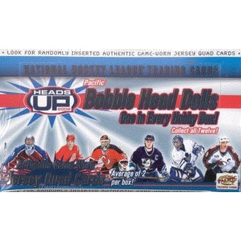 2001/02 Pacific Heads Up Hockey Hobby Box