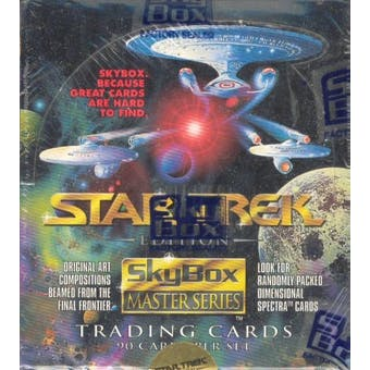 Star Trek Master Series Box (1993 Skybox) (Reed Buy)