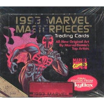 Marvel Masterpieces Series 2 Box (1993 Skybox)