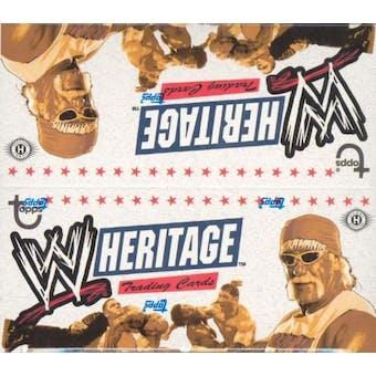 2005 Topps WWE Heritage Wrestling Hobby Box