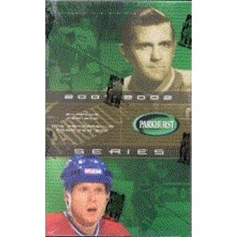 2001/02 Be A Player Parkhurst Hockey Hobby Box