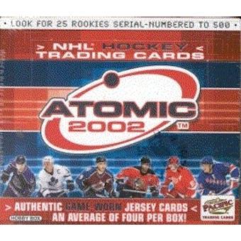 2001/02 Pacific Atomic Hockey Hobby Box