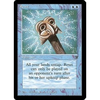 Magic the Gathering Legends Single Reset - MODERATE PLAY (MP) Sick Deal Pricing