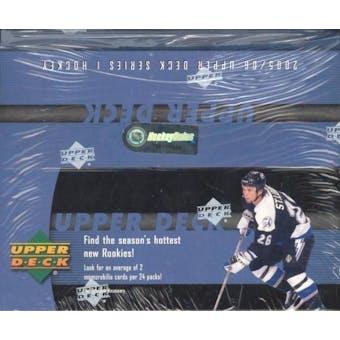 2005/06 Upper Deck Series 1 Hockey 24 Pack Box
