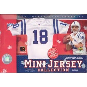 2005 Upper Deck Mini Jersey Football Hobby Box