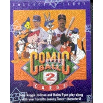 1991 Upper Deck Comic Ball Series 2 Baseball Wax Box