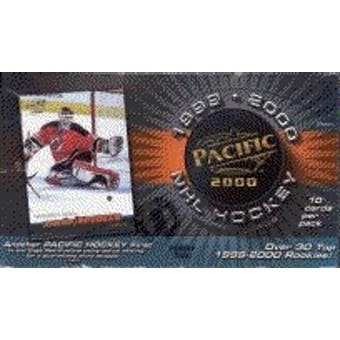 1999/00 Pacific Hobby Hockey Wax Box