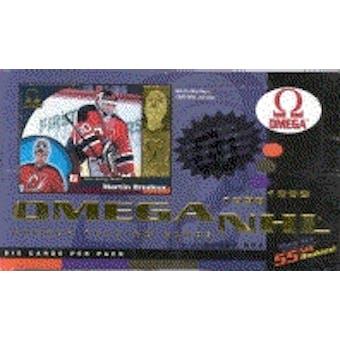 1998/99 Pacific Omega Hockey Hobby Box