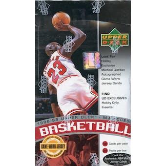 1998/99 Upper Deck Series 2 MJ Access Basketball Hobby Box