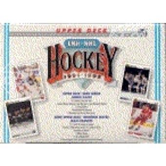 1991/92 Upper Deck French Hi # Hockey Jumbo Box