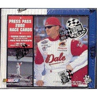 2002 Press Pass Racing Hobby Box