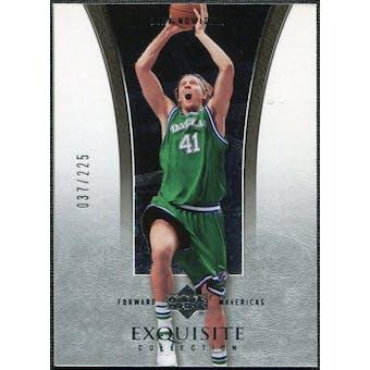 2004/05 Upper Deck Exquisite Collection #6 Dirk Nowitzki /225