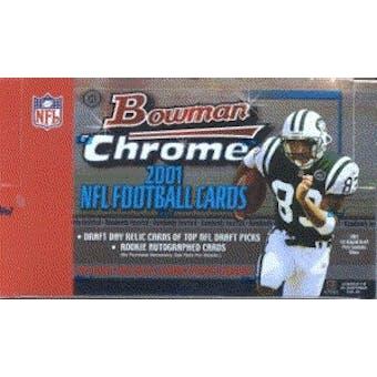 2001 Bowman Chrome Football Hobby Box